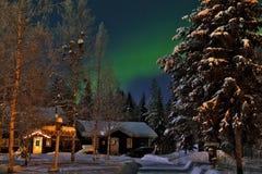 Lumière du nord Photo libre de droits