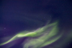 Lumière du nord Photographie stock