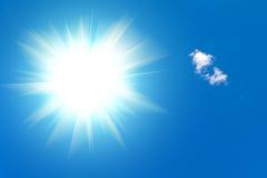 Lumière du soleil Photo libre de droits