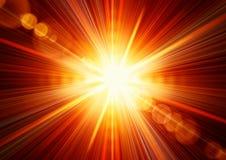 Lumière du soleil Image libre de droits