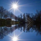 Lumière du soleil Images libres de droits
