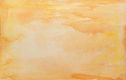 Lumière du soleil d'aquarelle Photo stock