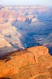 Lumière du soleil de matin, ombre, Hopi Point, Grand Canyon Photos stock