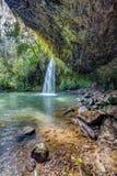 Lumière du soleil de Twin Falls Images stock