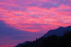 lumière du soleil multi colorée Images stock