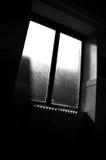 Lumière du soleil par l'hublot Images stock