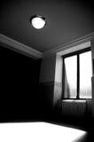 Lumière du soleil par l'hublot Image libre de droits