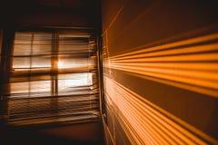 Lumière du soleil par la fenêtre Photos libres de droits