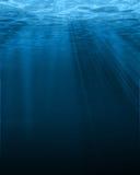 Lumière du soleil sur l'eau Photographie stock libre de droits