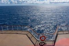 Lumière du soleil sur l'océan atlantique Photographie stock