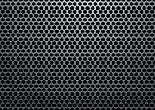 Lumière en métal d'hexagone Photographie stock