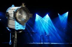 Lumière et étape photo libre de droits