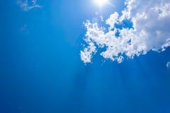 Lumière et ciel Image libre de droits