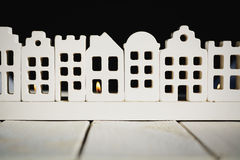 Lumière et confort dans la maison Photographie stock libre de droits