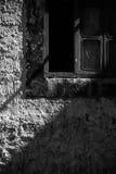 Lumière et fenêtre d'ombre Photo libre de droits