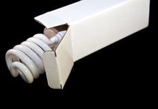 lumière fluorescente d'ampoule de cadre Image stock