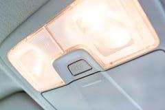 Lumière intérieure dans la voiture photos libres de droits