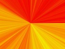 Lumière jaune et rouge abstraite Photo libre de droits