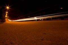 Lumière la nuit Images stock
