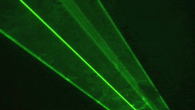 Lumière laser 2 clips vidéos