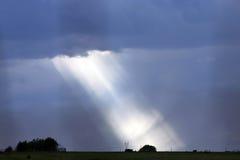 Lumière lumineuse Photos stock