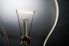 lumière lumineuse par ampoule Image libre de droits