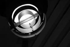 Lumière métallique d'étape avec le copyspace Photos libres de droits