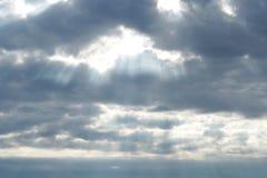 Lumière naturelle après des précipitations photo stock
