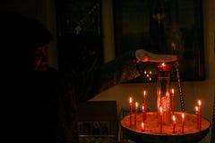 Lumière non brûlante de Pâques Photo libre de droits