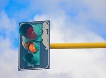 Lumière orange Images libres de droits