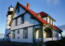Lumière principale de Portland photographie stock libre de droits