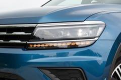 Lumière principale de Volkswagen Tiguan 2018 photos stock