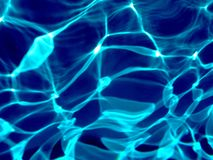 Lumière réfléchie de Blure dans l'eau Photos libres de droits