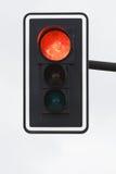 Lumière rouge Image libre de droits