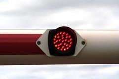 Lumière rouge Photo libre de droits