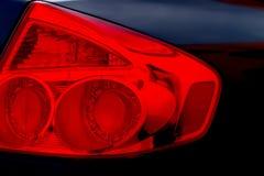 Lumière rouge Images libres de droits