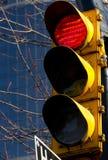 Lumière rouge d'arrêt Photo libre de droits