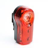 Lumière rouge de bicyclette. Images stock