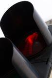 Lumière rouge de passage pour piétons Images libres de droits