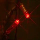 Lumière rouge de pièce Photo stock