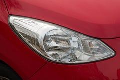 Lumière rouge de voiture Image stock