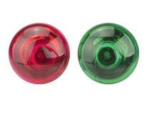 Lumière rouge, feu vert photo libre de droits