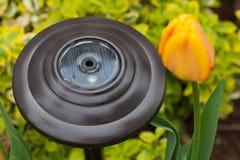 Lumière solaire de jardin Image libre de droits