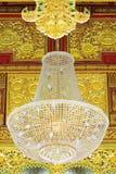 Lumière sur le plafond Image libre de droits
