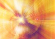 Lumière tordue abstraite optique Fond d'effet de fibres Élément d'énergie de puissance Hypnotisez les vagues cosmiques de mouveme images stock