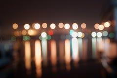 lumière trouble Photos libres de droits
