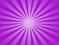 Lumière violette de Sun Image stock