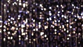 Lumières éclatantes abstraites banque de vidéos