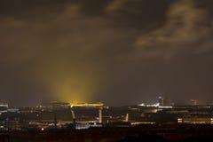 lumières étrangères Photos libres de droits