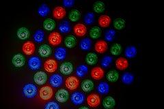 lumières abouties Photos stock